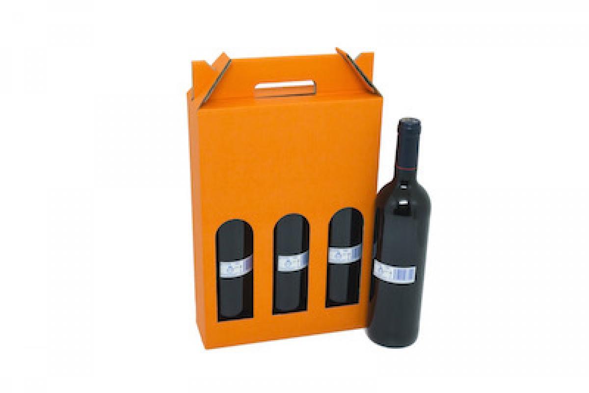 Caja Para 3 Botellas