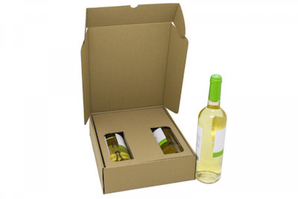 Caja Botellas con Separador