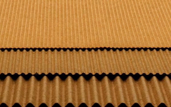 ondas carton ondulado